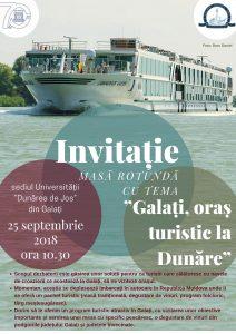 invitatie oras turistic